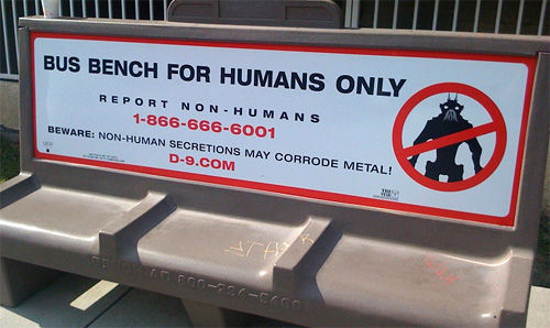 district 9 bench ad - District 9 Advertising Campaign Makes Me Feel Like A Jerk